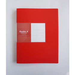 Double A PP Display Book - 1Box/12pcs(60 Pockets) Red