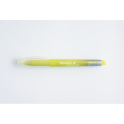 Double A Highlighter Mild Yellow (1Pkt/10pcs)