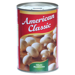American Classic Mushroom Whole-400gm