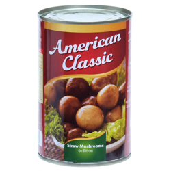 American Classic Straw Mushroom-15oz