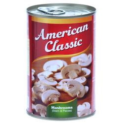 American Classic Mushroom Slice-400gm