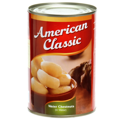American Classic Water Chestnuts-425gm