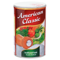 American Classic Iodized Salt-26oz