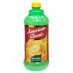 American Classic Lemon Juice-32oz