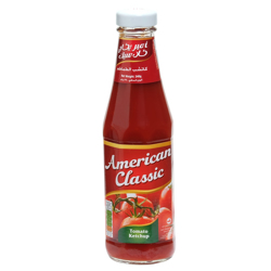 American Classic Tomato Ketchup-340gm
