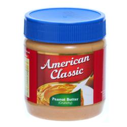 American Classic Peanut Butter Crunchy-340gm