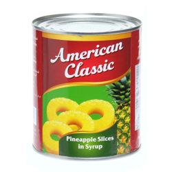 American Classic Pineapple Slices-850gm