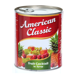 American Classic Fruit Cocktail In Can-825gm