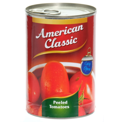 American Classic Peeled Tomatoes Whole Easy Open-400gm