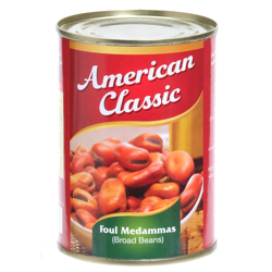 American Classic Foul Madammas Easy Open-400gm