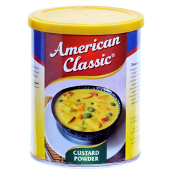 American Classic Custard Powder In Can-300gm