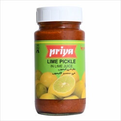 Priya Lime Pickle In Lime Juice-300gm