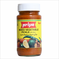 Priya Mixed Vegetable Pickle In Oil-300gm