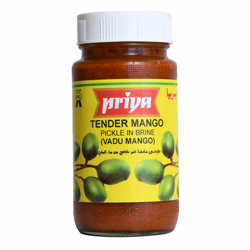 Priya Tender Mango Pickle In Brine-300gm