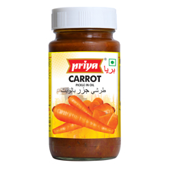 Priya Carrot Pickle In Oil-300gm