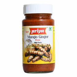 Priya Mango Ginger Pickle In Oil-300gm