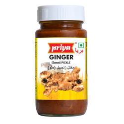 Priya Sweet Ginger Pickle In Oil-300gm
