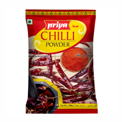 Priya Chilli Powder-200gm (Pouch)