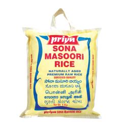 Priya Premium Sona Masoori Raw Rice-5Kg