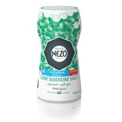 Nezo Fine Iodized Table Salt L/Sodium-450gm