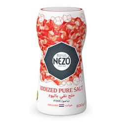 Nezo Fine Iodized Table Salt (Red)-600gm