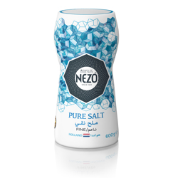 Nezo Fine Table Salt (Blue)-600gm