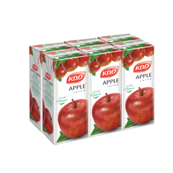 KDD Apple Juice-180ml-Pack of 6