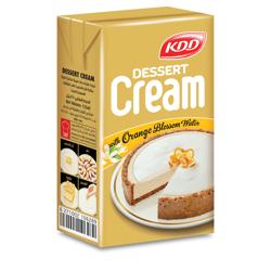 KDD Dessert Cream W/Orange Blossom-125ml-Pack of 4