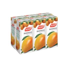 KDD Mango Nectar-180ml-Pack of 6