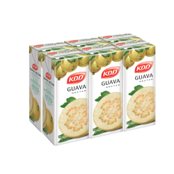 KDD Guava Nectar-180ml-Pack of 6