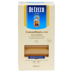 De Cecco Pasta Canneloni W/Eggs #100-500gm