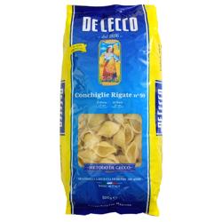 De Cecco Pasta Conchiglie Rigate #50-500gm