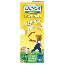 Lacnor Flavoured Milk Banana-180ml