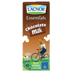 Lacnor Flavoured Milk Laces Long Life Choco-125ml
