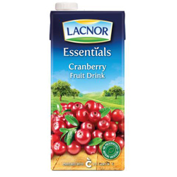 Lacnor Essentials Juice Cranberry-1Ltr