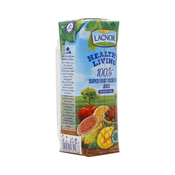 Lacnor Healthy Living Frtcocktail Super Fruit-250ml