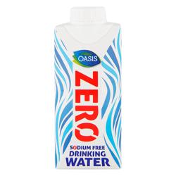 Oasis Long Life Zero Box Water-330ml