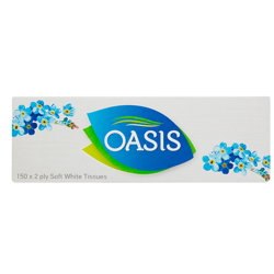 Oasis Tissues 150X2 Ply 6X6-150s