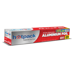 Hotpack Aluminum Food Storage Container Combo Pack Buy 2 Get 1 Free(1850cc+890cc+420cc,10Pcs Each)