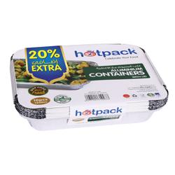 Hotpack Aluminum Container 83120-10+2 Free x 32Pkt