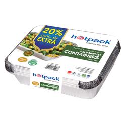 Hotpack Aluminium Container 73365-5+1 Free