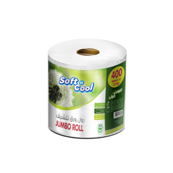 Soft N Cool Jumbo Maxi Roll Value Pack,2.2 Kg,1Roll-400m