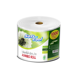 Soft N Cool Jumbo Maxi Roll Value Pack,5.5 Kg,1Roll-1000m