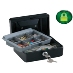 Sentry Cash Box Model CB-6 Secured By Keylock