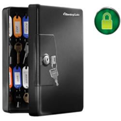 Sentry Key Cabinet Model KB-25 Secured By Keylock
