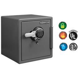 Sentry Fire Safe Model STW123GTC Secured By Electronic + Key Lock-33.61L