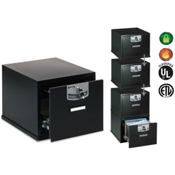 Sentry Fire-Resisitant Stackable File Model U2101 Secured By Keylock-28L