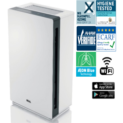 Ideal AP60 Pro (Professional) Air Purifier For Pure Indoor Air, Suitable For Room Sizes Of 50-70 Sqm