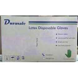 Durasafe Latex Gloves Large White (100 Pcs/Box) Powder Free preview