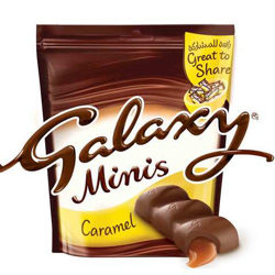 Galaxy Caramel Minis-168gm